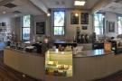 A panoramic view of the counter, till to right of centre.