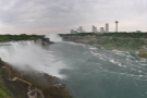Talking of waterfalls, this is Niagara Falls, seen from the US side.