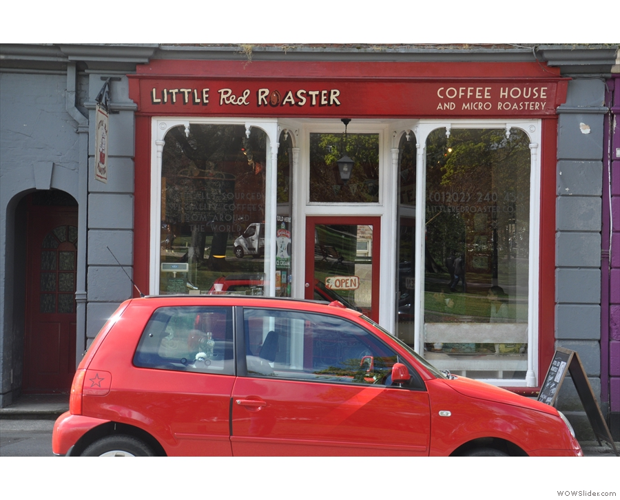 Poole's Little Red Roaster: when I rule the world, I'm banning parking outside coffee shops!