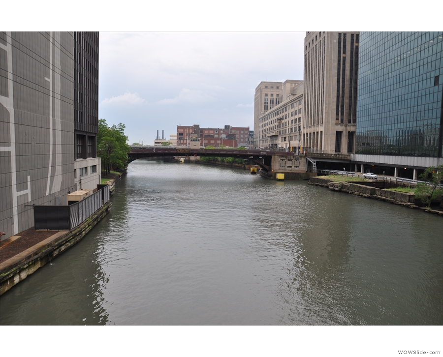 I'll leave you with a view of the Chicago River as I set off to explore...