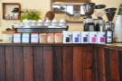 ... with various beans from the three main roasters on sale.