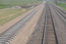 Check out the newly-laid track on the left. There was a lot of work going on along the line...