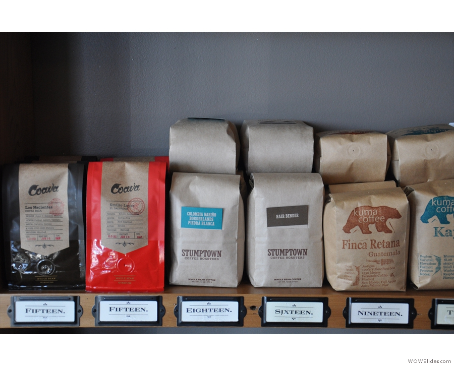 Portland's Coava and Stumptown, with Kuma from Seattle...