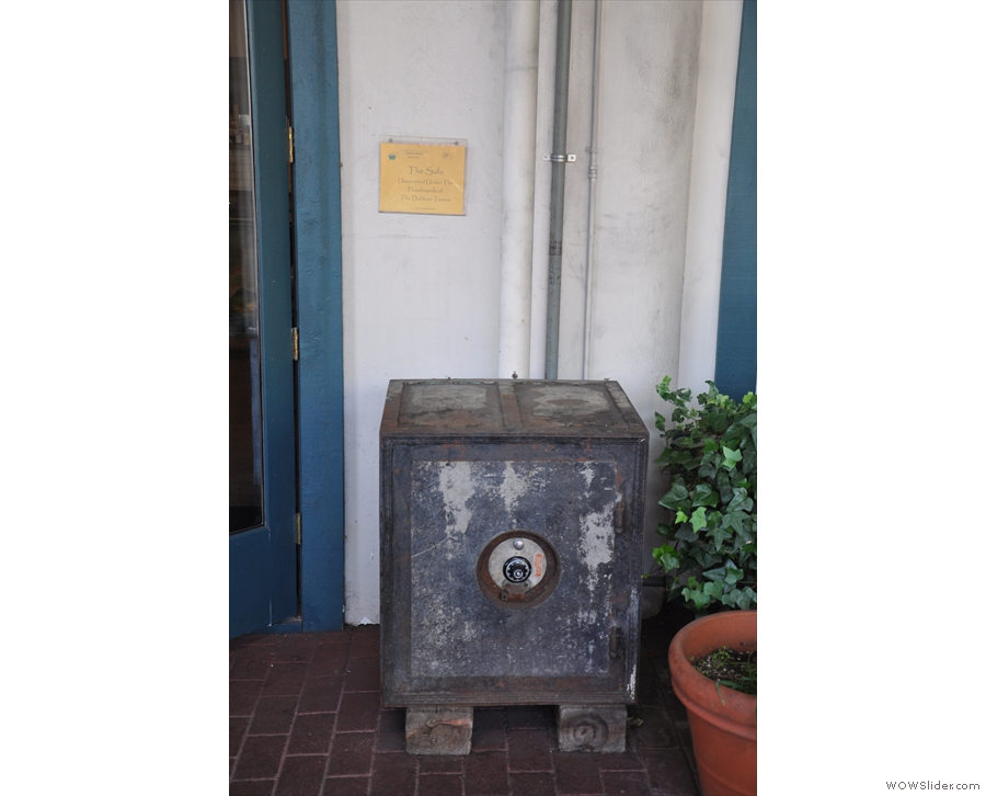 An old safe...