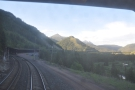 From the rear of the train I got some magnificent views of the valley...