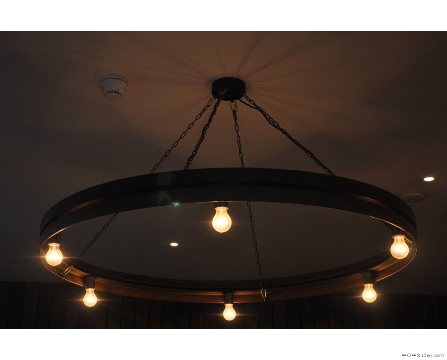 One of the lighting rings in detail.