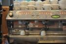 The espresso machine in detail...