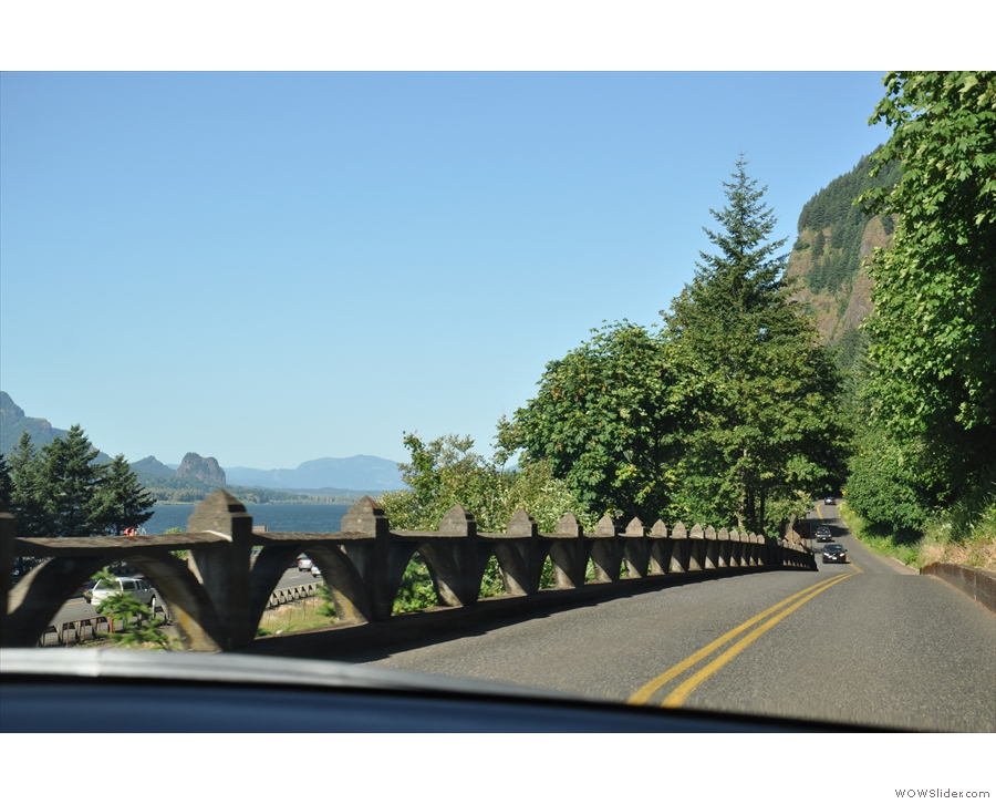 ... and sudden vistas! If you get a chance to drive it, do.