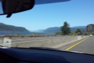 For most of the way, we were on I-84, skirting the edge of the river.