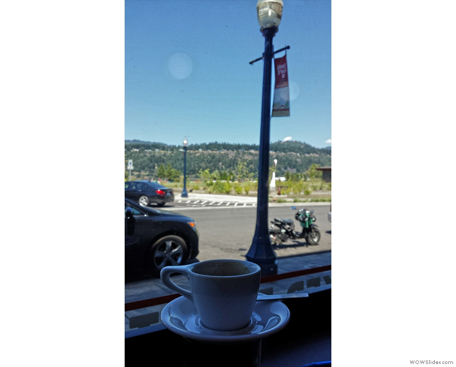 Espresso with a view.