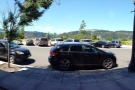 A panoramic view from my seat at the window bar.