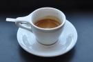 My Ugandan single-origin espresso. I was surprised and impressed.