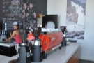 ... plus the espresso machine...