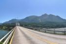 A panoramic view of Oregon from the Washington side...