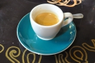 The Nueva Llusta single-origin espresso: looking (and tasting) good!