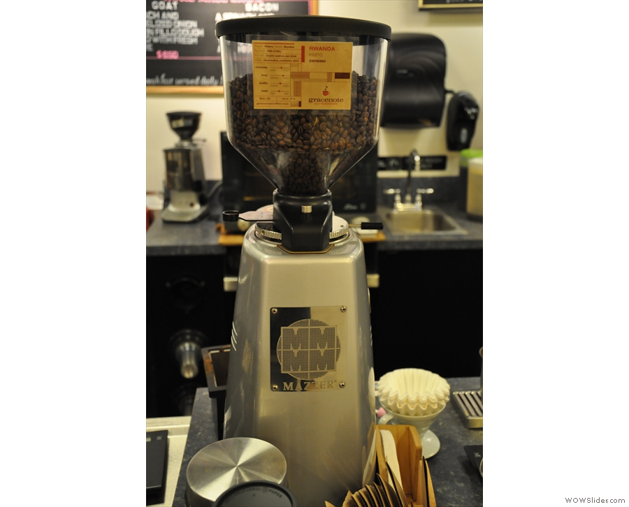 The guest espresso was from Gracenote, a small roaster from Berlin, MA