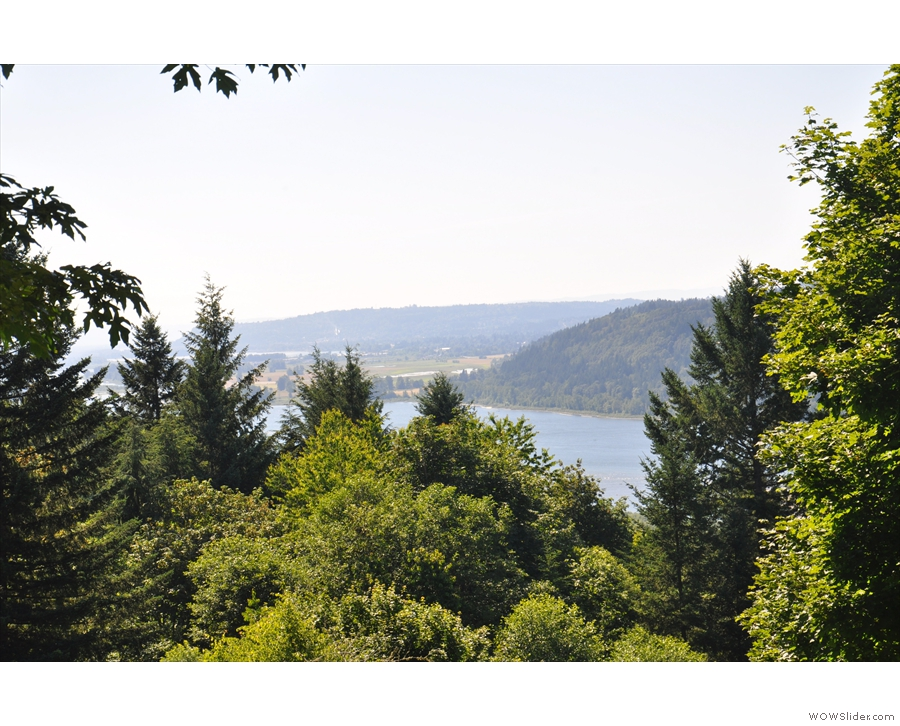 The view from Bridal Veil Lakes over the Columbia Gorge was pretty awesome...