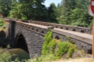 I had a little time, so went exploring: the old Columbia Gorge highway bridge over creek.