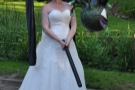 I'm not sure putting a blindfold on a woman with a baseball bat is a good idea guys!