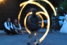 With the sun safely down, we had one last treat: fire dancers!