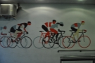 I loved this mural down the side passage at Look Mum No Hands!