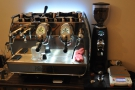 After the filter, we moved onto espresso and this Victoria Arduino Adonis.