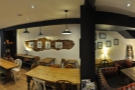 A panoramic view from the right-hand wall...