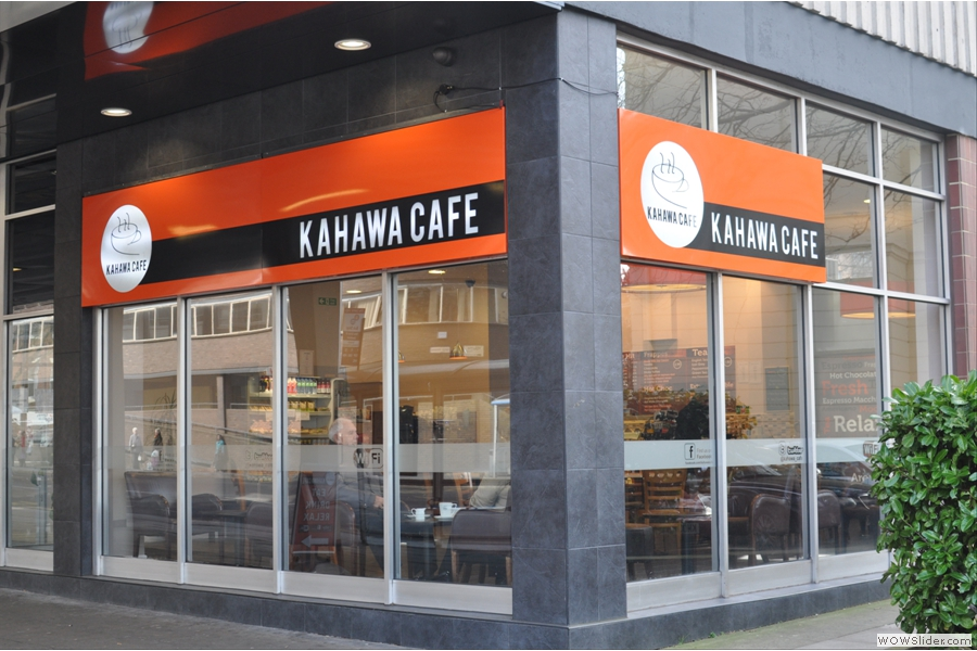 Kahawa Cafe, occupying a fine corner position in Coventry
