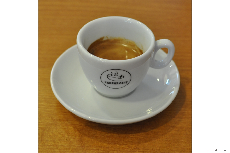 ... and my espresso even better!