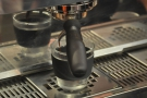 Well, I had to have a shot. I love watching espresso extract...