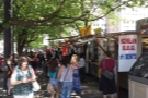 And another one! In fact, all four sides of a large city block, ringed with food trucks...