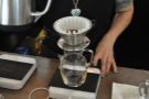 Street Bean uses the Chemex for cold brew, but the Kailta Wave for pour over.