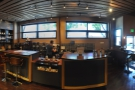 Second stop on my last day, the lovely interior of the coffee bar at Portland Coffee Roasters.