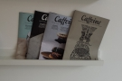There really in no escape from Caffeine Magazine!