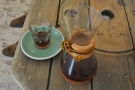 The third option, by the way, is the Chemex, which is what I had :-)