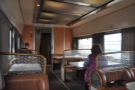 However, I discovered that the lounge car was available for anyone that wanted it...
