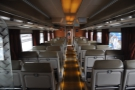 The carriages were lovely, although smaller, and with less leg room, than other Amtrak trains.