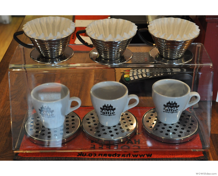 Talking of which, there are a variety of filter methods, including these Kalita Waves.