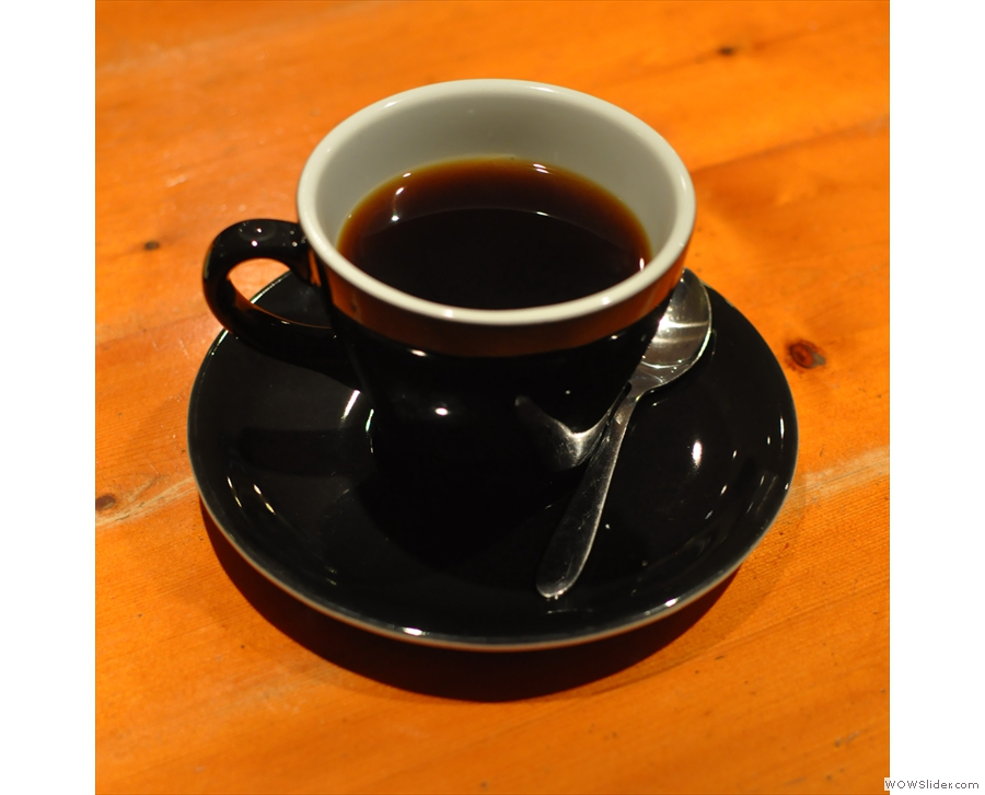The resulting cup of coffee was one of the nicest I've ever had.