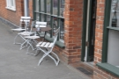 ... although you could sit outside if you fancied.