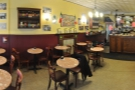 Stepping inside, a panoramic view from just inside the door...