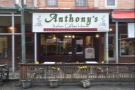 Anthony's Italian Coffee House on 9th Street in Philadelphia's Italian Market district.
