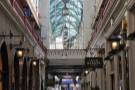 The fabulous Castle Arcade in Cardiff, home of Coffee Barker and worth a visit in itself.