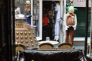 And finally, a view out of the window. This being Cardiff, there has to be a Dalek.