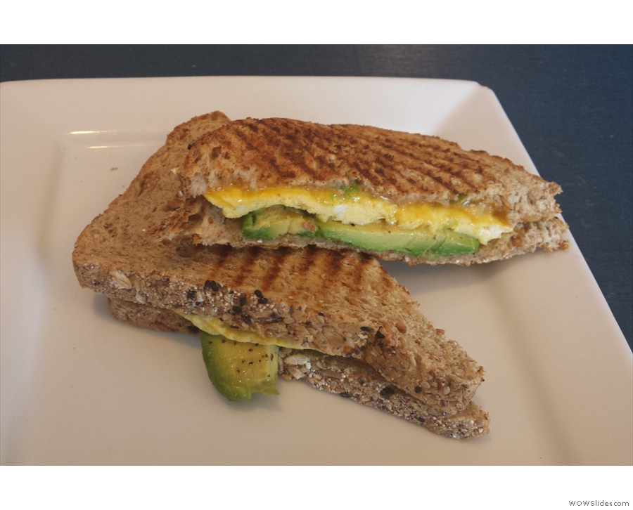 My grilled cheese sandwich.