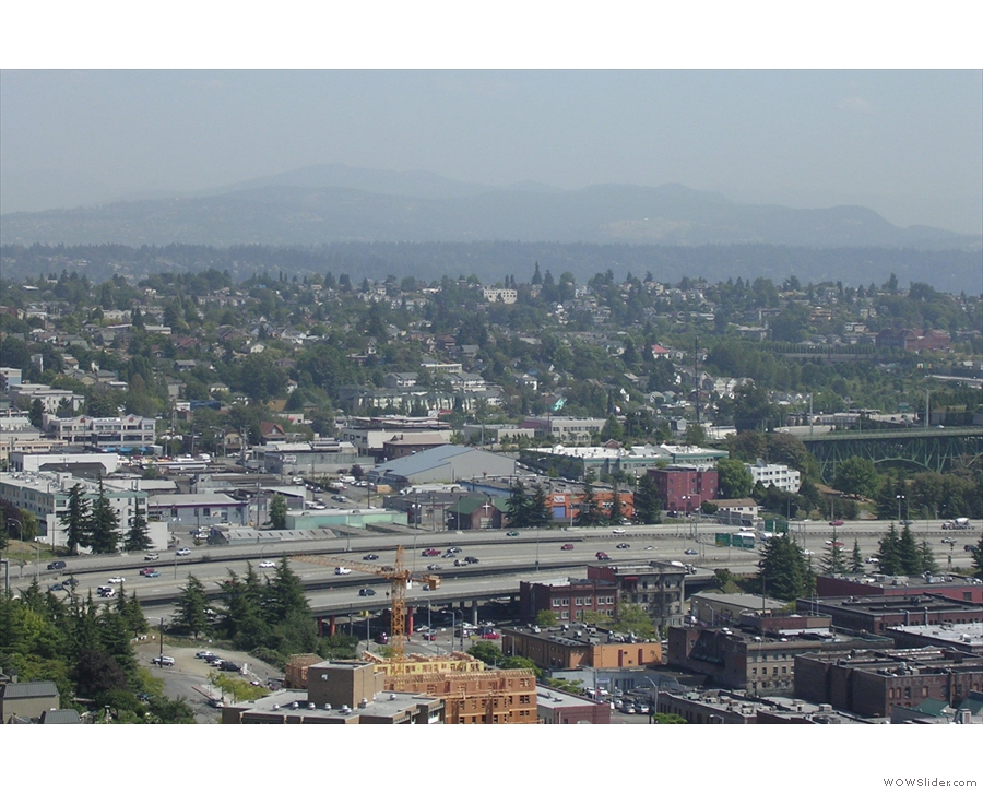 I'm not sure why I thought Seattle wasn't hilly... This picture says otherwise!