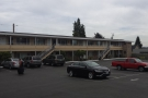 My motel, the Marco Polo. My room was at the top at the right-hand end.