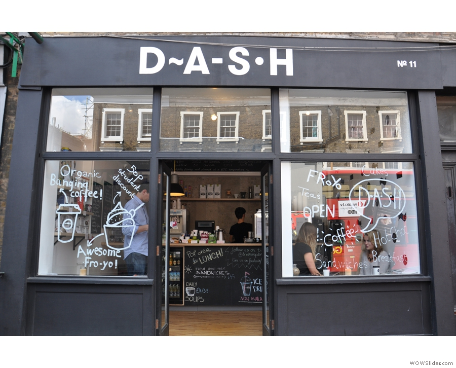 The original 'Drink, Shop & Dash' on London's Caledonian Road...