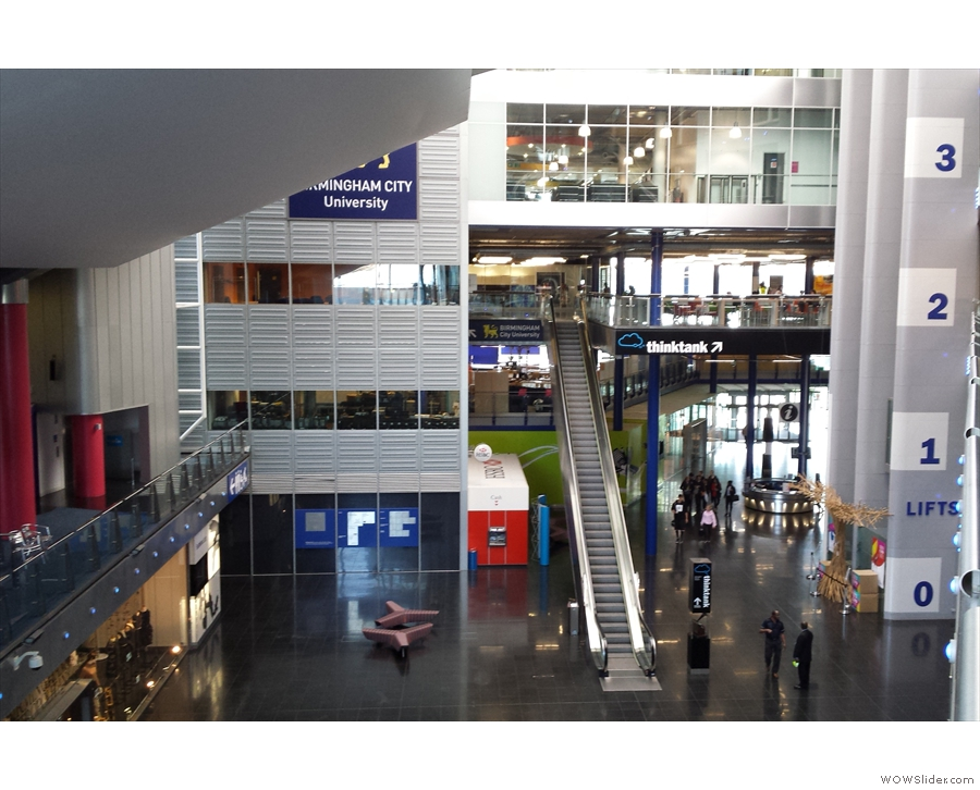 Birmingham's Millennium Point. It's big. Trust me, I've wandered around most of it!