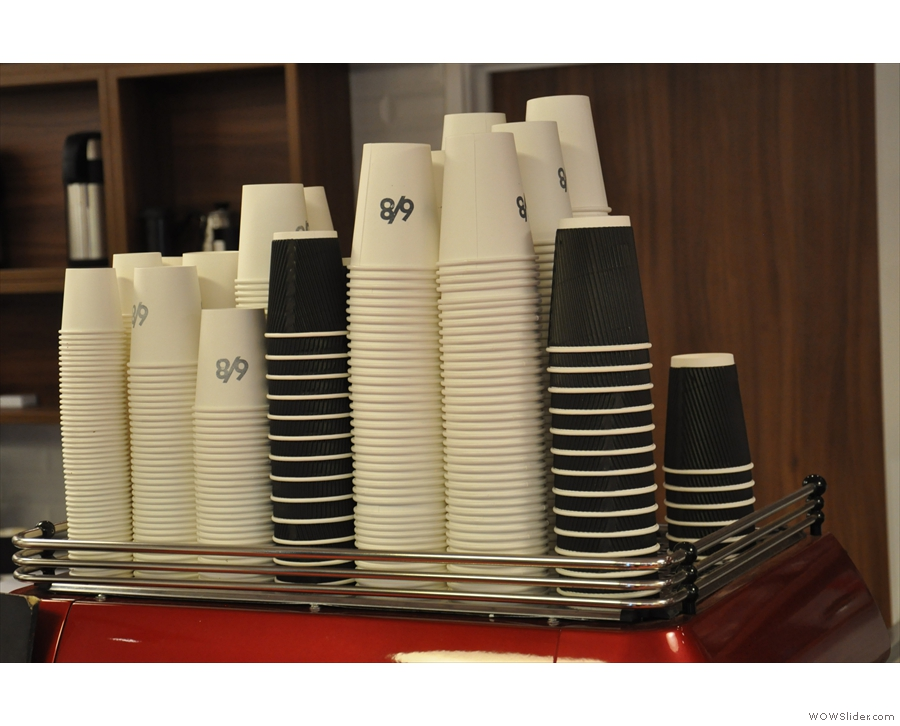 Beware, however, 6/8 Kafé is only allowed to serve in takeaway cups...